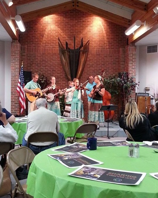 An awesome nite of music with the Herrlinger family – thanks to God for their ta…