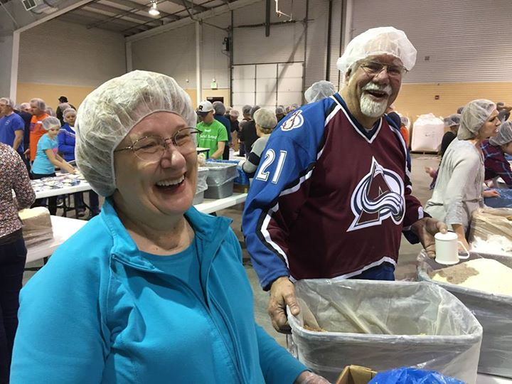 It was an epic night for hair nets & happiness Friday at Slammin' Famine 2016! A…