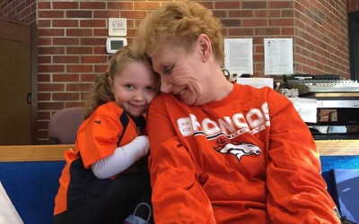 So why did the Broncos win the Super Bowl? Maybe it was Sue's cute granddaughter…
