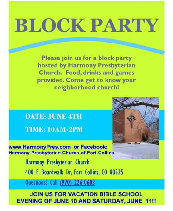 Hey everyone, we are 2 DAYS AWAY from the block party!!  And just in time:  new …