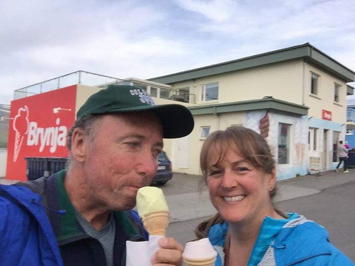 Major & Nancy didn't have to travel all the way to Iceland for ice cream – they …