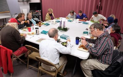 Don't forget: Advent Potluck tonight starting a 6!  A warm meal with people who …