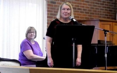 "ICYMI last Sunday, a duet by Bonny & Nancy ""On Eagles Wings"", the beautiful song…"