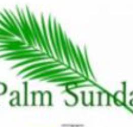 Palm Sunday Service