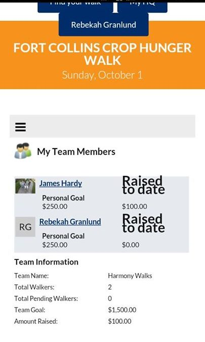 Need help registering to walk on our team for the Crop Walk? We can help you str…