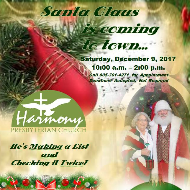 Call for your appointment to visit Santa! Invite grandkids and neighborhood frie…