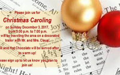 This is going to be so much fun! Plan to join us for Christmas Caroling! We will…