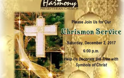 Join us Tomorrow @ 6 p.m. for our Chrismon service. What a beautiful tradition t…