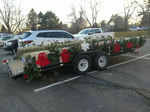 The trailer is ready to go for caroling tomorrow! Are you planning to join us? W…