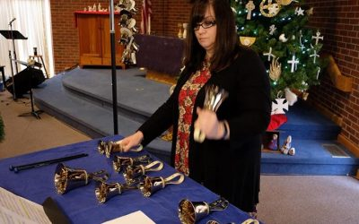 There is something about handbells that resonates a little bit deeper during win…