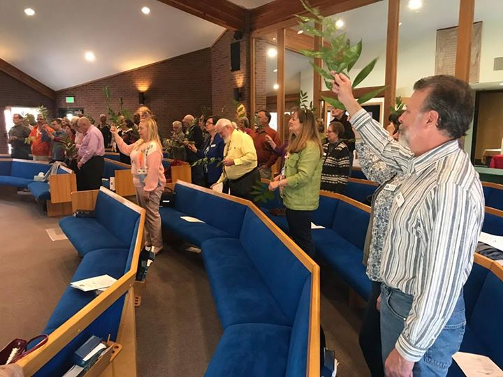 We have a wonderful tradition here at Harmony. On Palm Sunday each year we celeb…